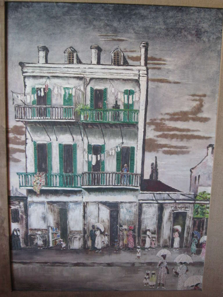 Early 20th century Sunday afternoon in a black American