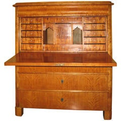 19th Century Biedermeier Fall Front Secretary/Chest