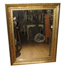 Antique Giltwood Mirror