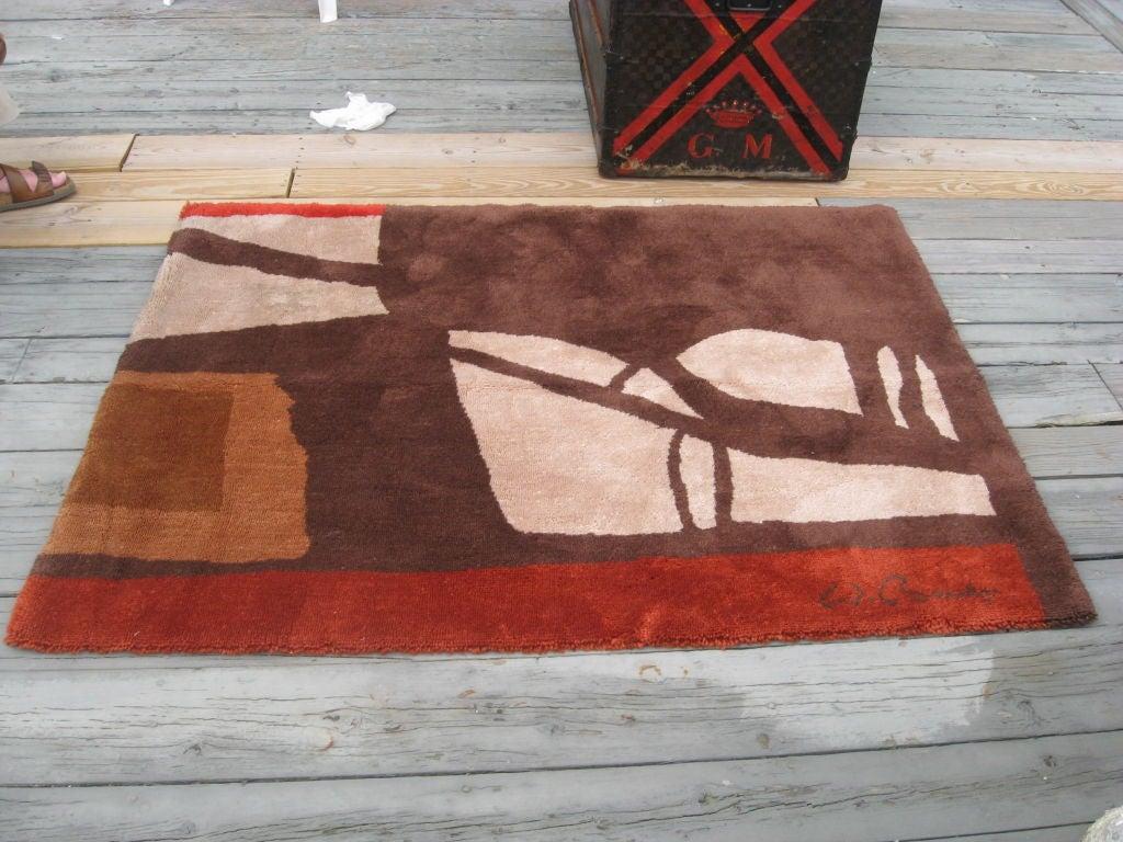 Modernist Wolf Bauer Area Rug For Sale At 1stdibs