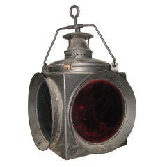 Antique Outdoor Entrance Lantern from Sag Harbor