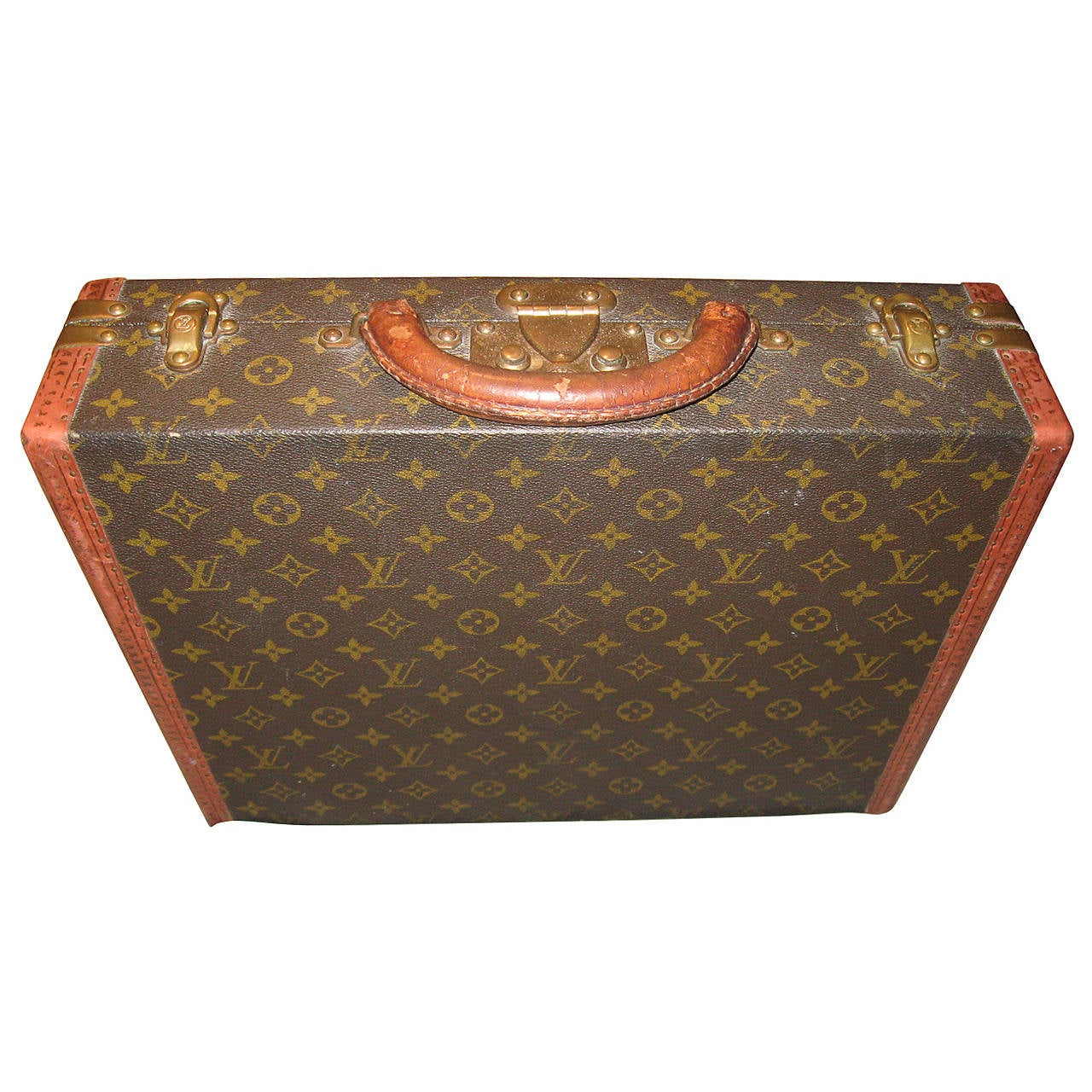 louis vuitton vintage briefcase at 1stdibs. Black Bedroom Furniture Sets. Home Design Ideas