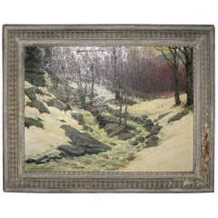 Oil Painting by Anton Otto Fischer