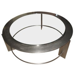 "Brueton ""Satellite"" Modernistic Coffee Table"