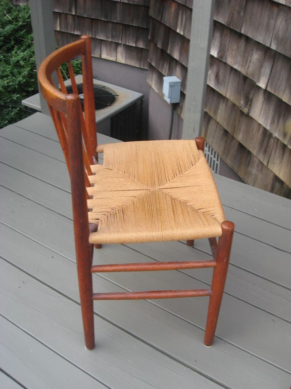 Midcentury Danish Modern Teak Dining Chairs by J. Baekmark In Excellent Condition In Water Mill, NY