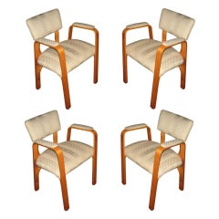 Four Armchairs by Thonet