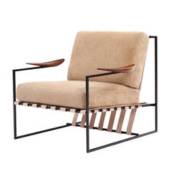 Anette Armchair by Jorge Zalszupin