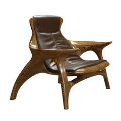 Grude Armchair by Fernando Mendes and Julia Krantz