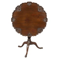 George III Period Mahogany Tilt-Top Dessert Table, circa 1780