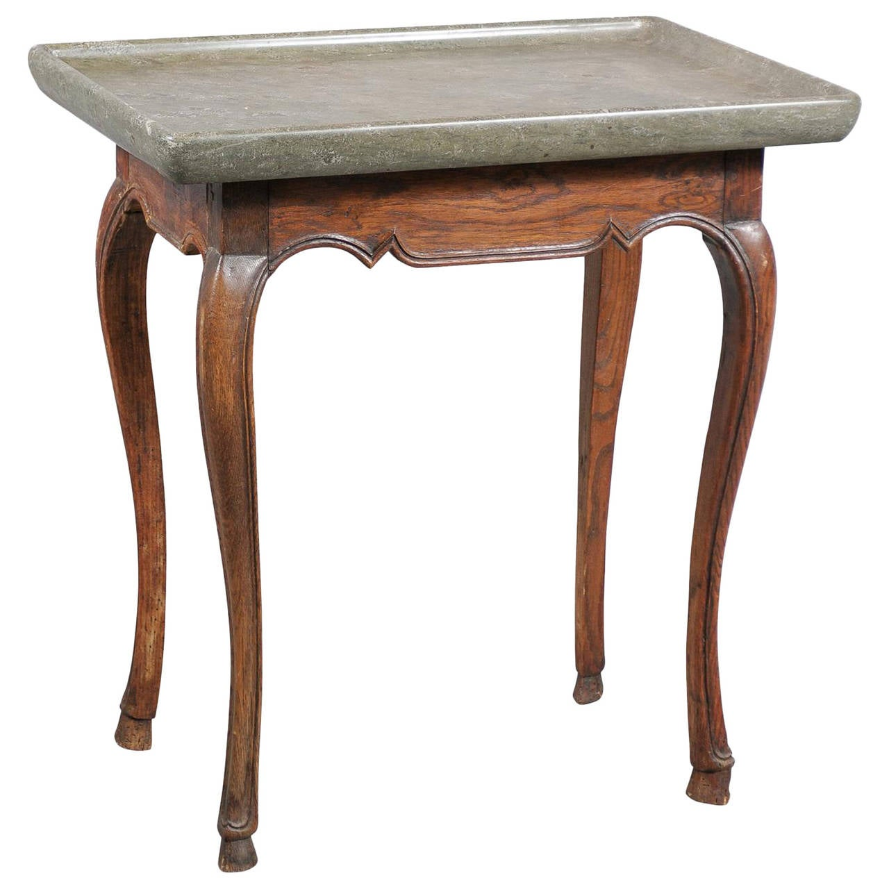 18th century swedish oak table with stone top at 1stdibs - Archives departementales 33 tables decennales ...