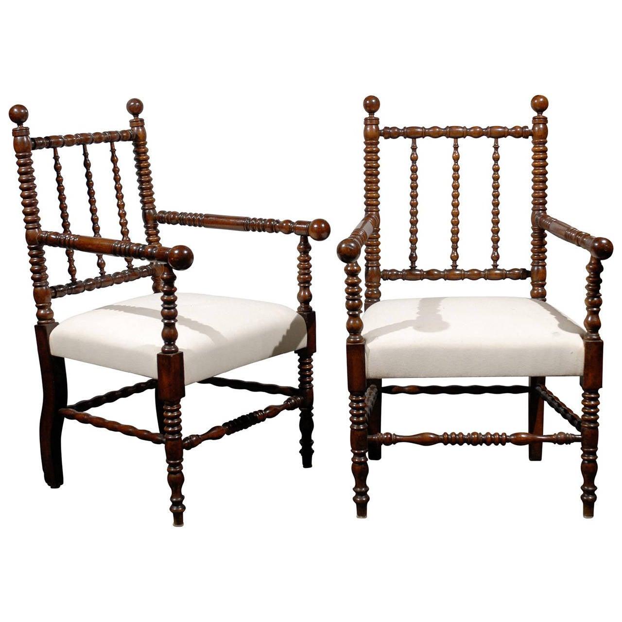 bobbin chairs at 1stdibs