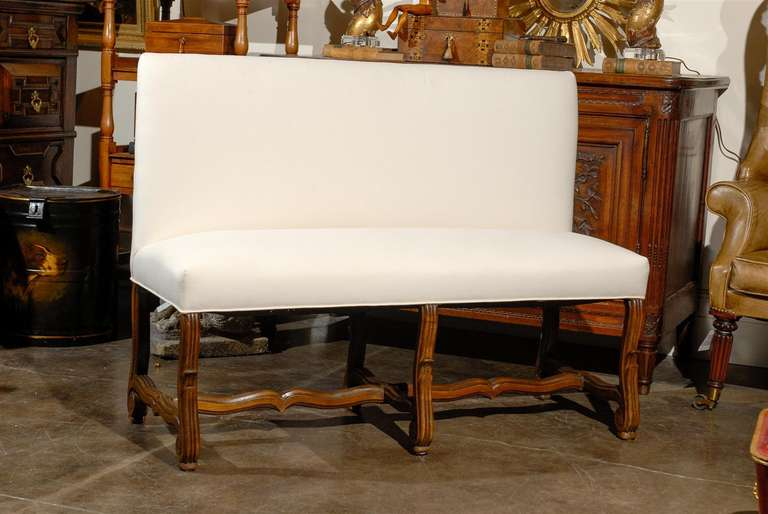Upholstered Bench With Back Upholstered Bench Settee With