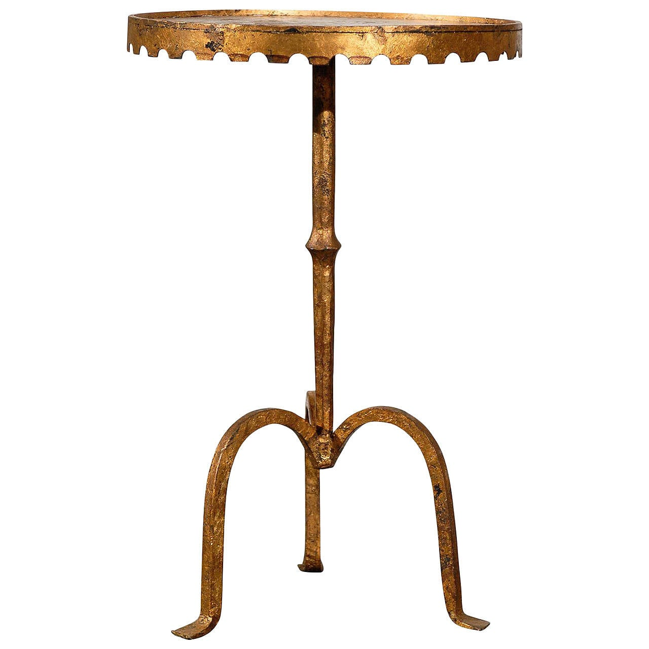 Spanish gilt metal table at 1stdibs for Table in spanish