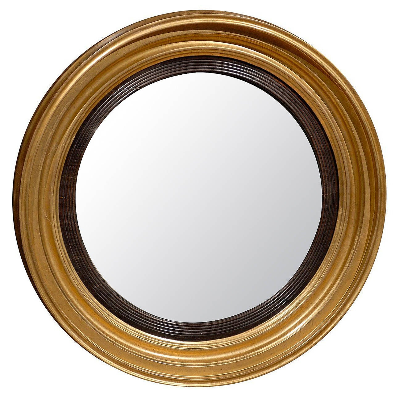 English convex mirror at 1stdibs for Convex mirror