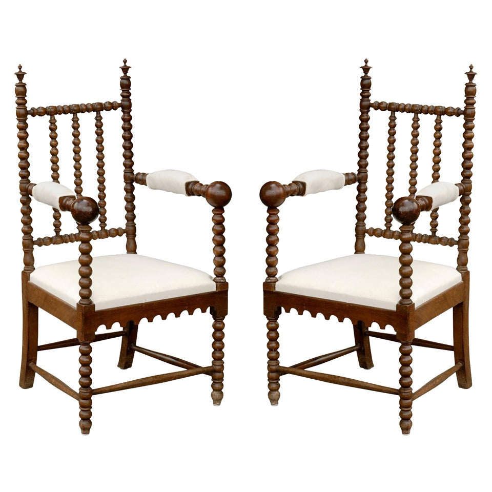 this pair of bobbin chairs is no longer available