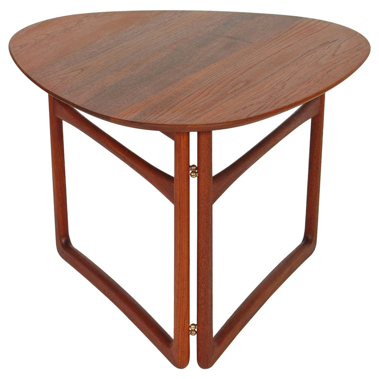 Peter Hvidt Folding Side Table At 1stdibs