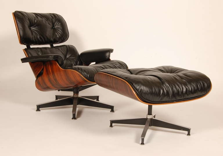 eames lounge chair and ottoman 1960s at 1stdibs