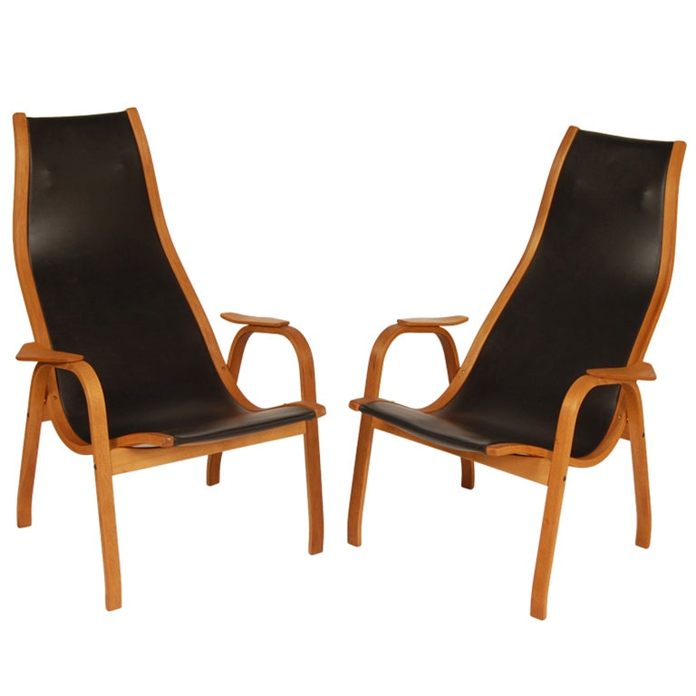 "Yngve Ekstrom Lounges""Lamino"" at 1stdibs"