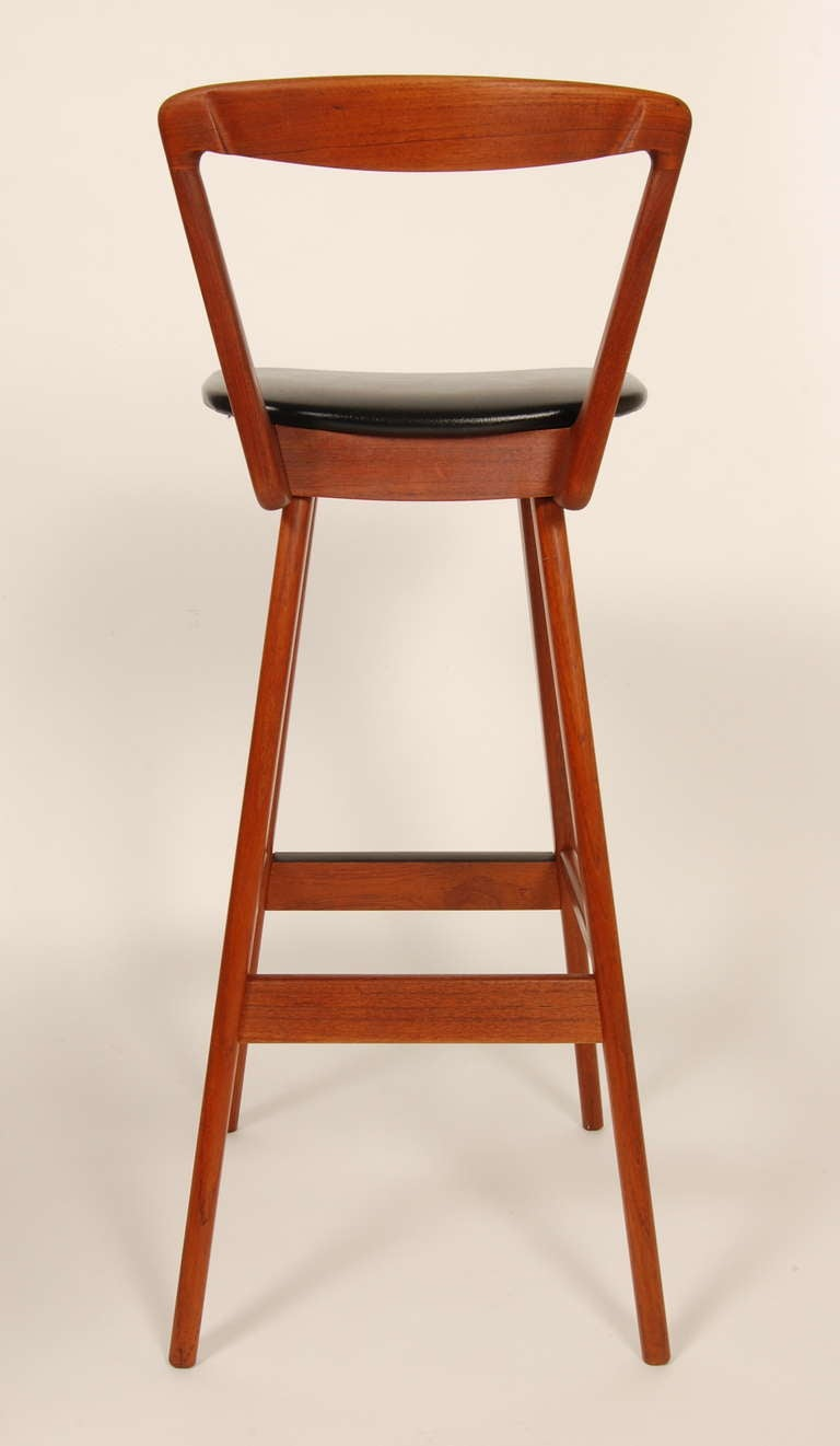 Danish Bar Stools At 1stdibs