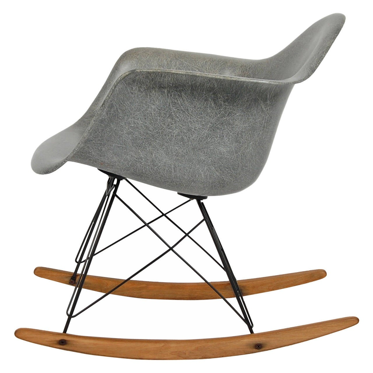 eames zenith rocking chair at 1stdibs. Black Bedroom Furniture Sets. Home Design Ideas