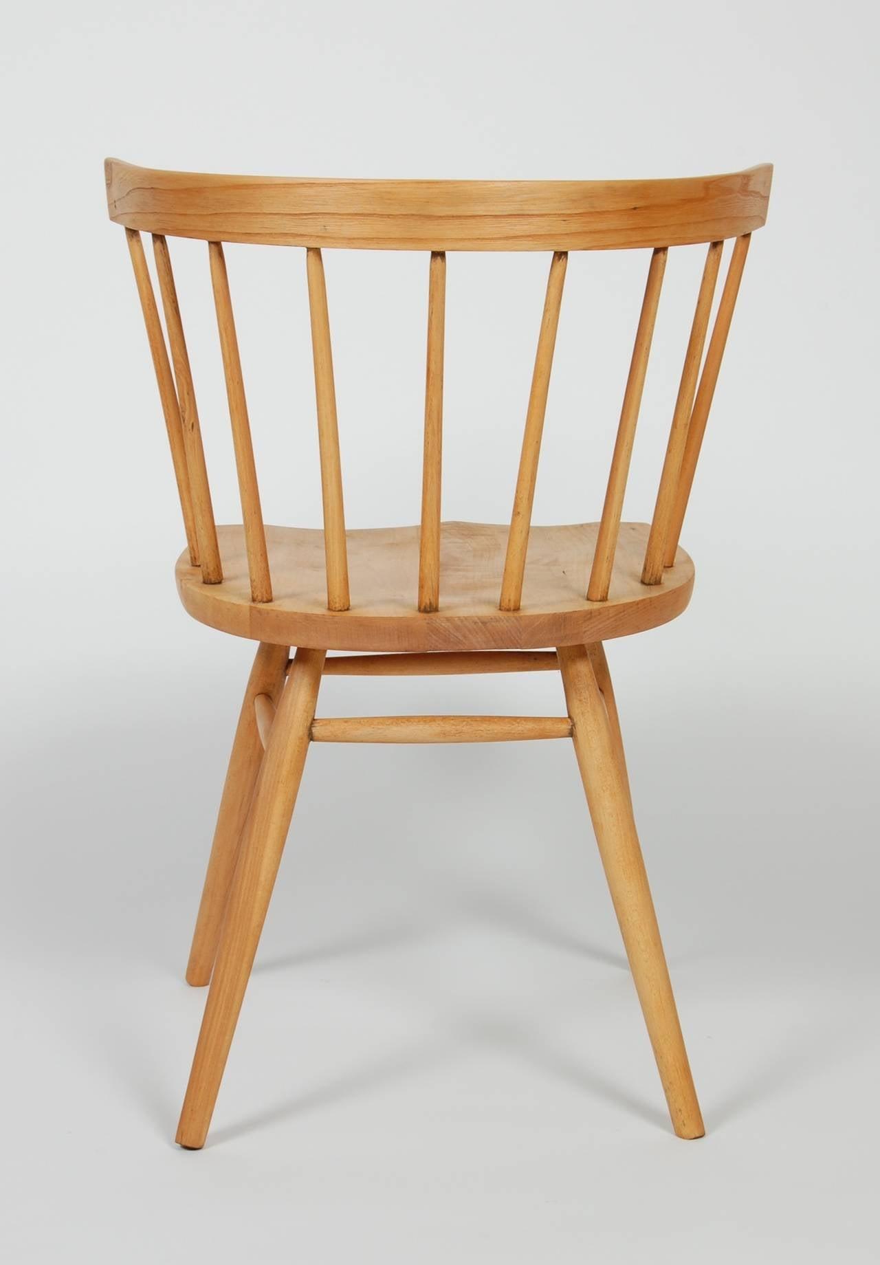 George Nakashima Straight Chair at 1stdibs