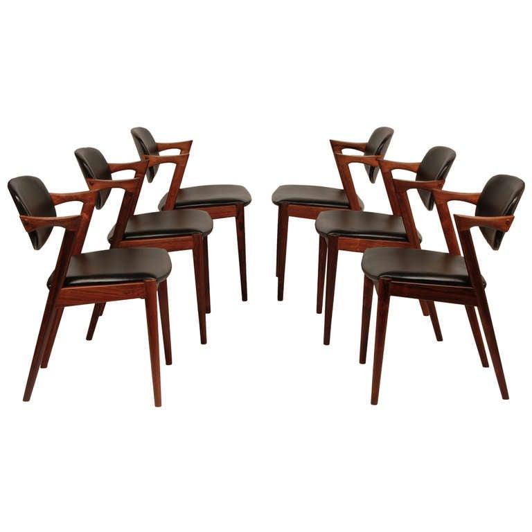 Kai Kristiansen Rosewood Z Dining Chairs at 1stdibs : DSC0050l from www.1stdibs.com size 768 x 768 jpeg 37kB