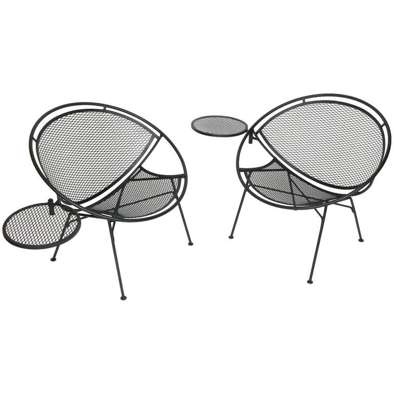 Salterini Radar Patio Chairs At 1stdibs