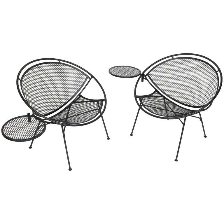 Salterini Radar Patio Chairs at 1stdibs