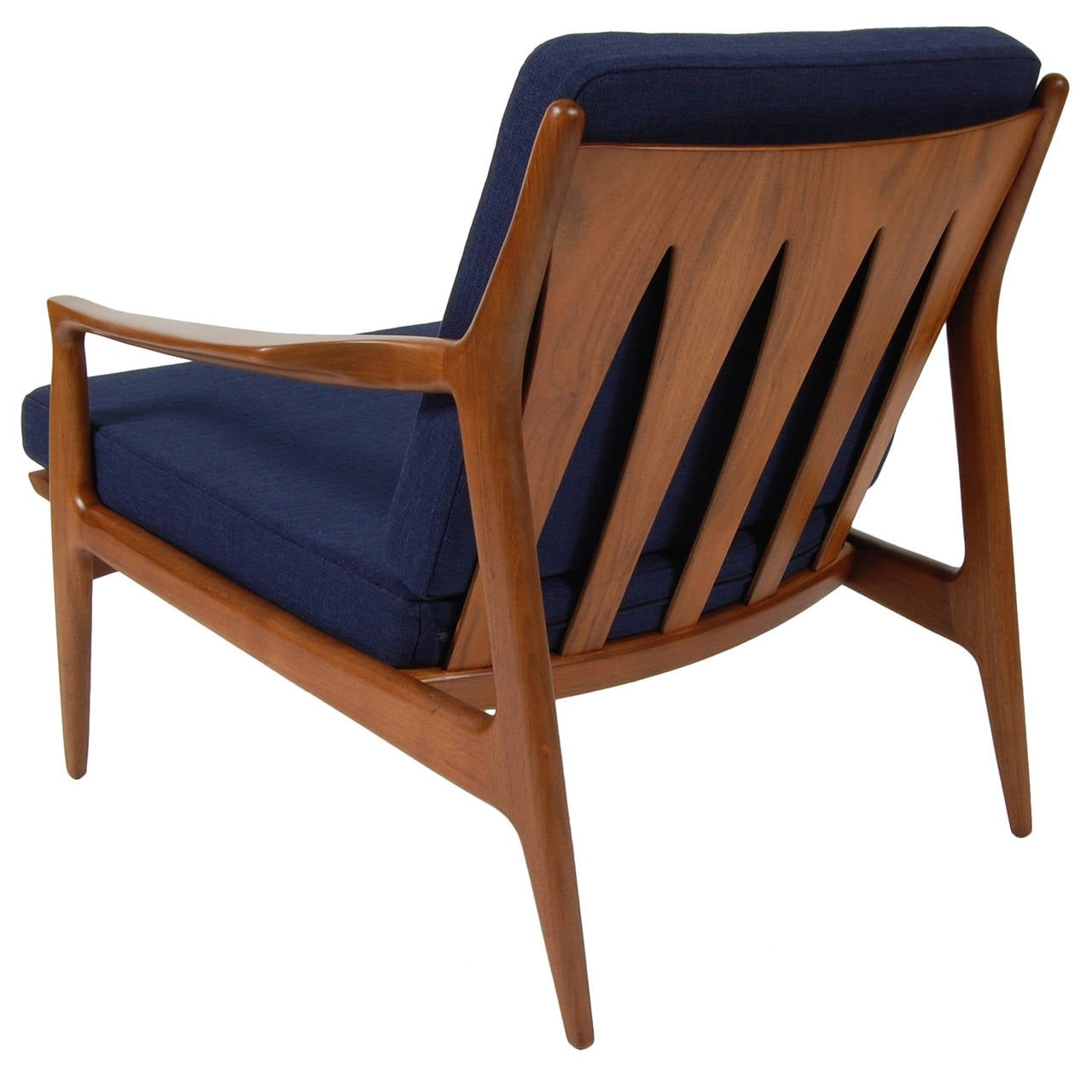 Milo Baughman Archie Lounge Chair at 1stdibs