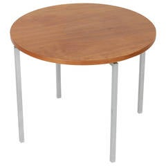 Florence Knoll Circular Side Table, 1950s