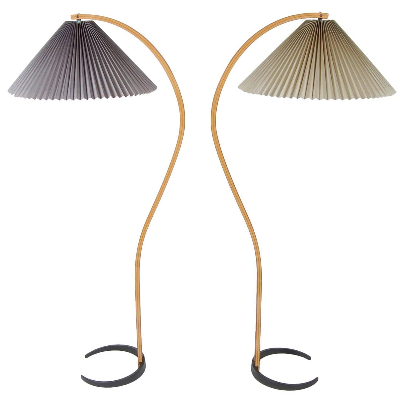 Mads caprani floor lamp danish modern circa 1970s at 1stdibs for 1970s floor lamps