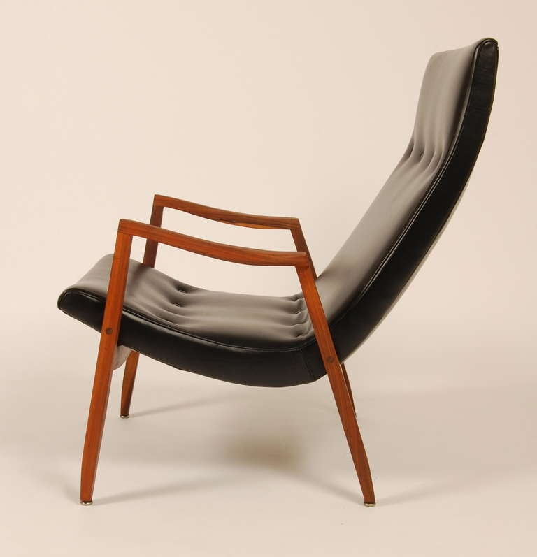 Milo Baughman Scoop Lounge At 1stdibs