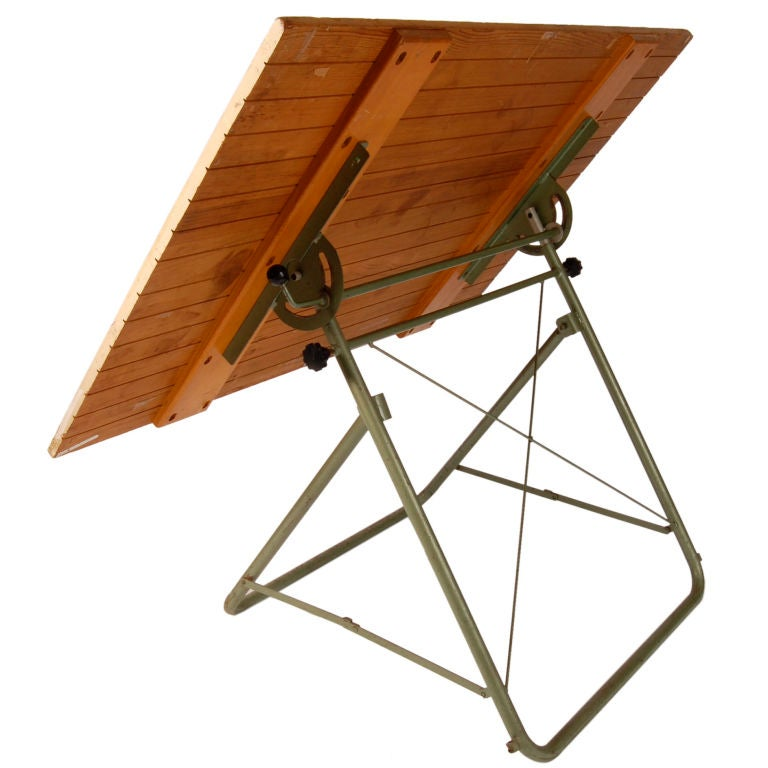 This vintage drafting table by hamilton is no longer available - Vintage Drafting Table At 1stdibs