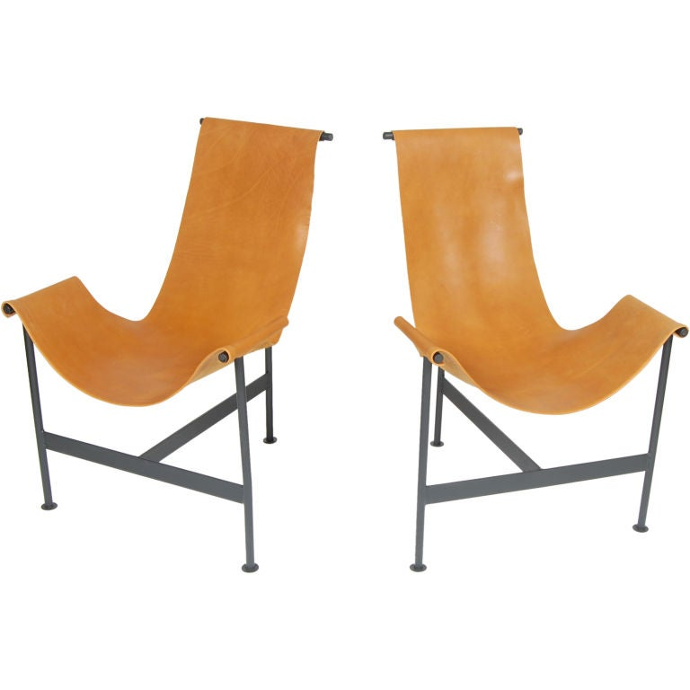 Sling Lounge Chairs at 1stdibs