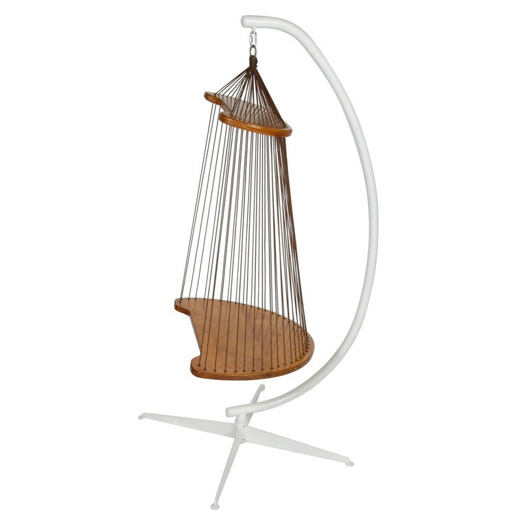 Hanging Rope Chair Quot Tweety Bird Cage Quot At 1stdibs