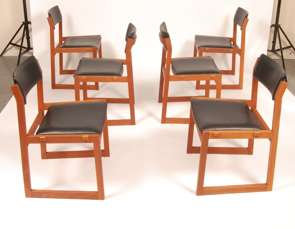 Ks danish dining chairs at stdibs