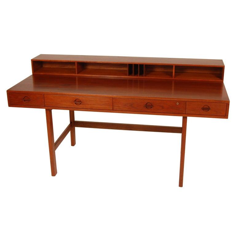 Lovig Flip Top Desk At 1stdibs