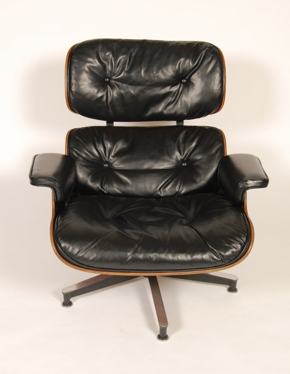 1960s Rosewood  Eames Lounge and Ottoman image 5
