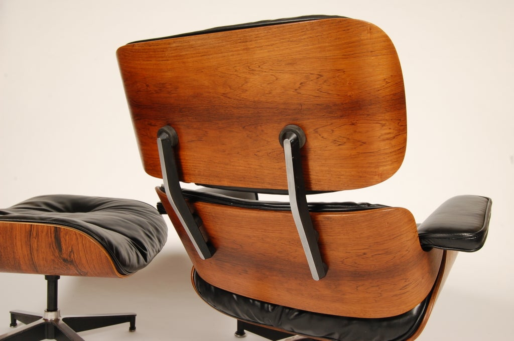 1960s Rosewood  Eames Lounge and Ottoman image 7