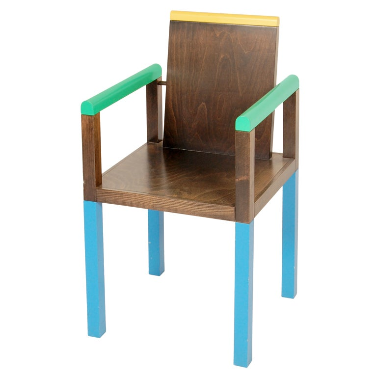 George Sowden Memphis Palace Chair At 1stdibs