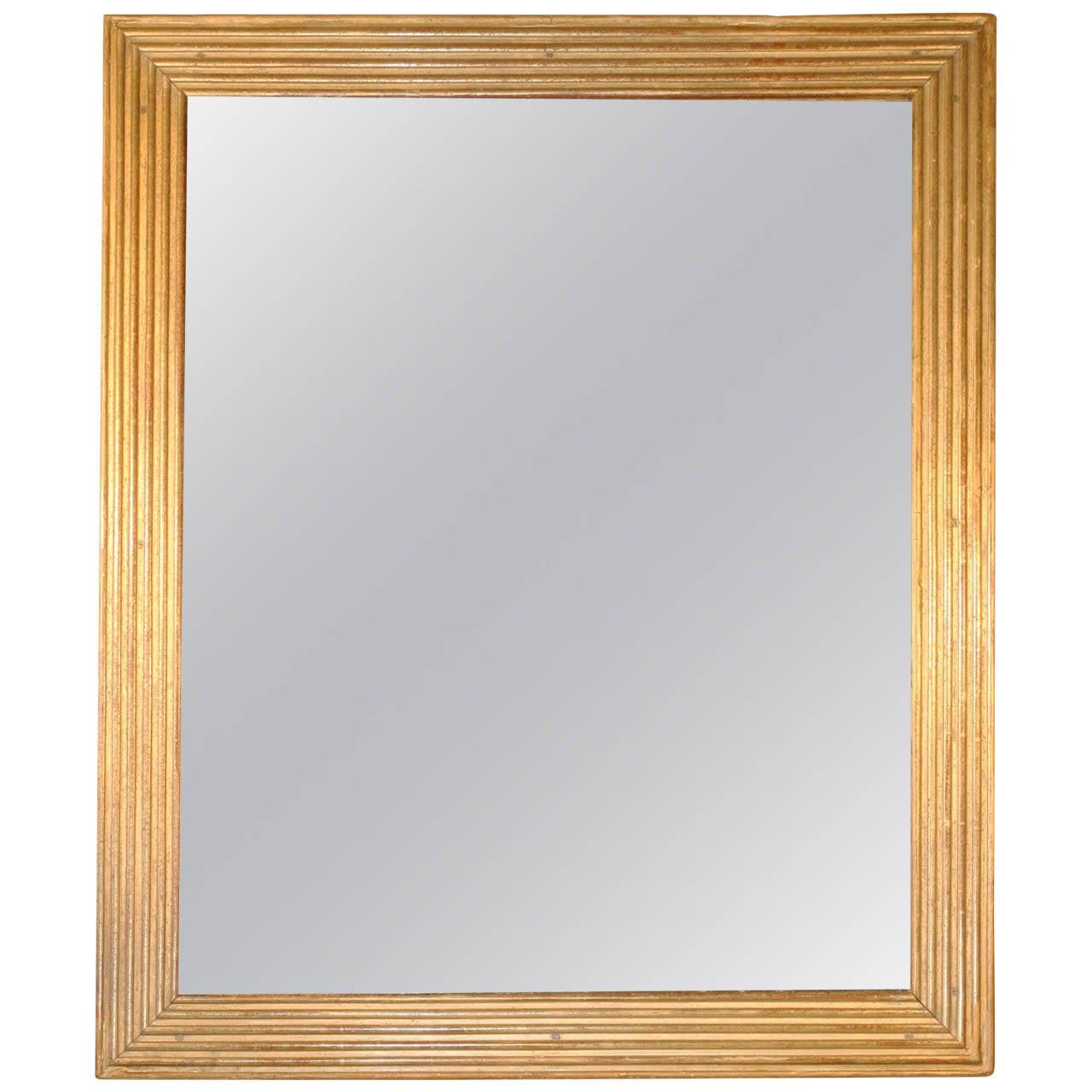 Arched gilt mirror at 1stdibs - 18th Century French Louis Xvi Gilt Frame Mirror 1