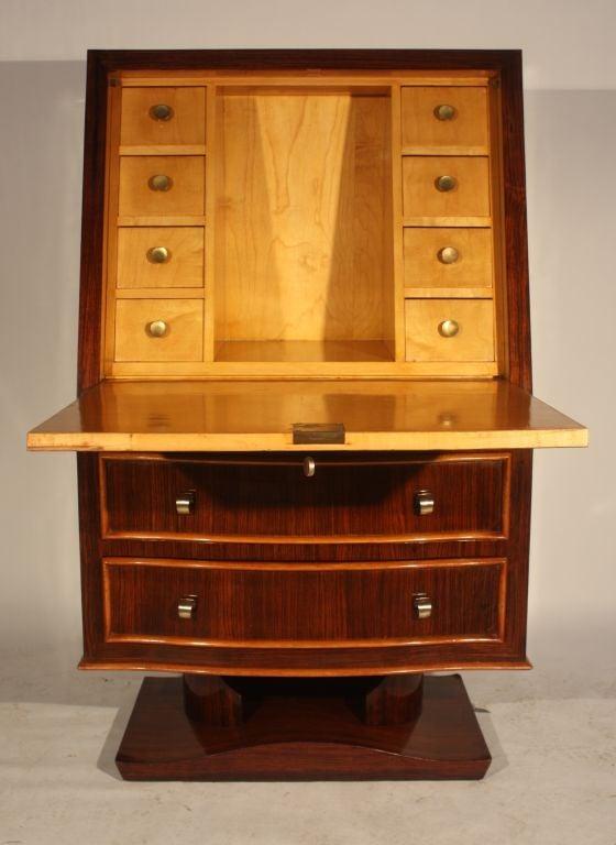 a fine art deco secretaire circa 1930 at 1stdibs. Black Bedroom Furniture Sets. Home Design Ideas