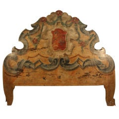 Venetian Painted Headboard, King Size