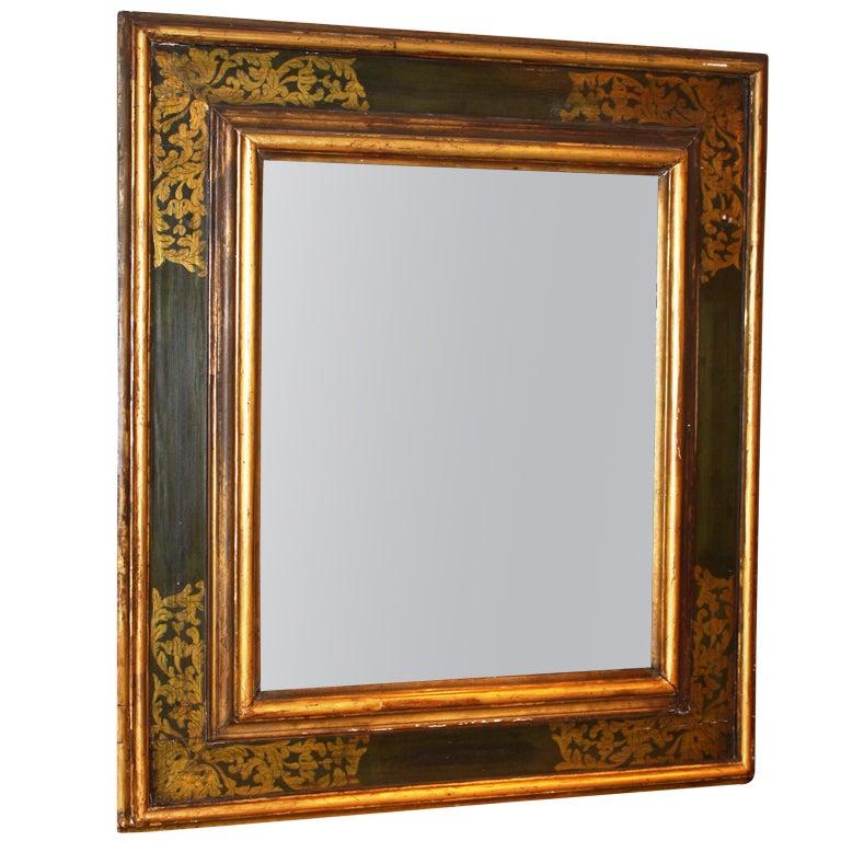 19th Century Italian Baroque Style Mirror