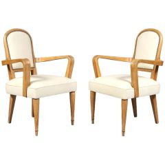 Set Of 4 Arbus Style Armchairs