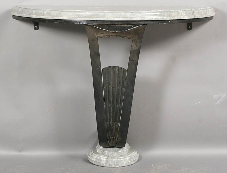 Art Deco Console Table For Sale at 1stdibs