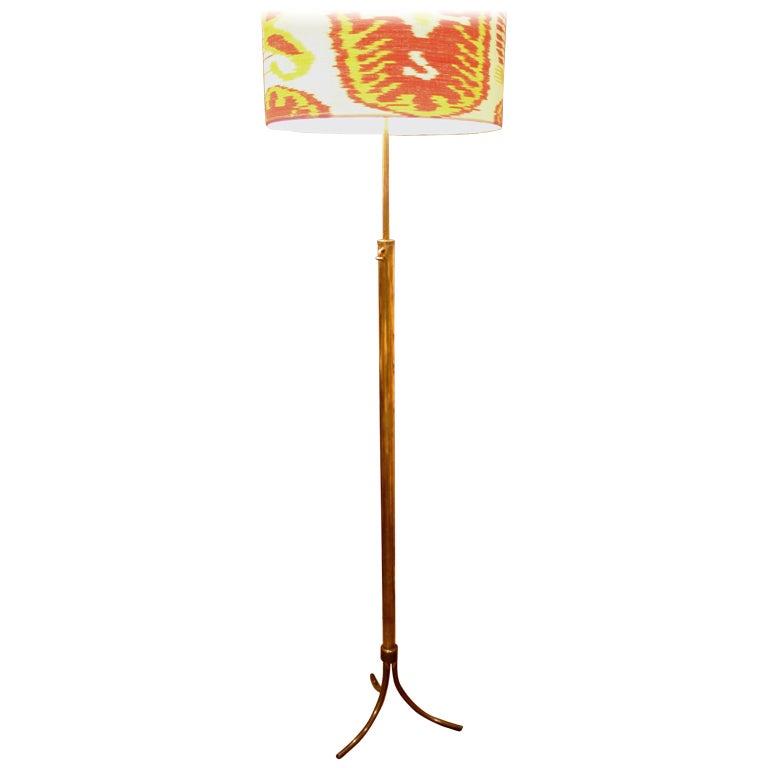 French Modernist Floor Lamp For Sale