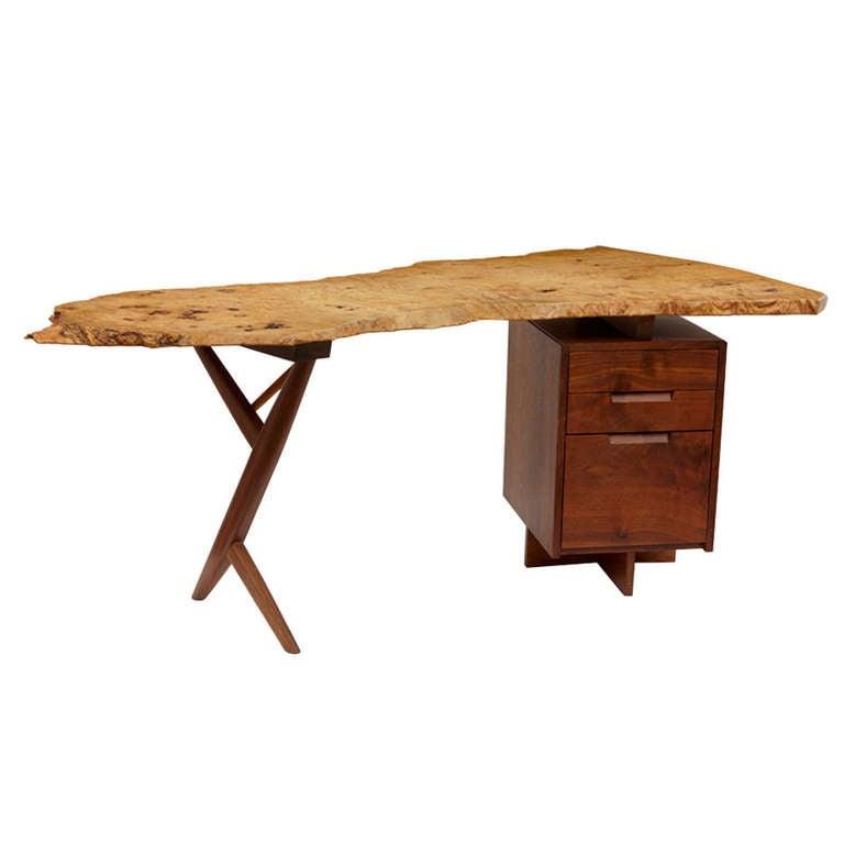 Cross Legged Quot Conoid Quot Desk At 1stdibs