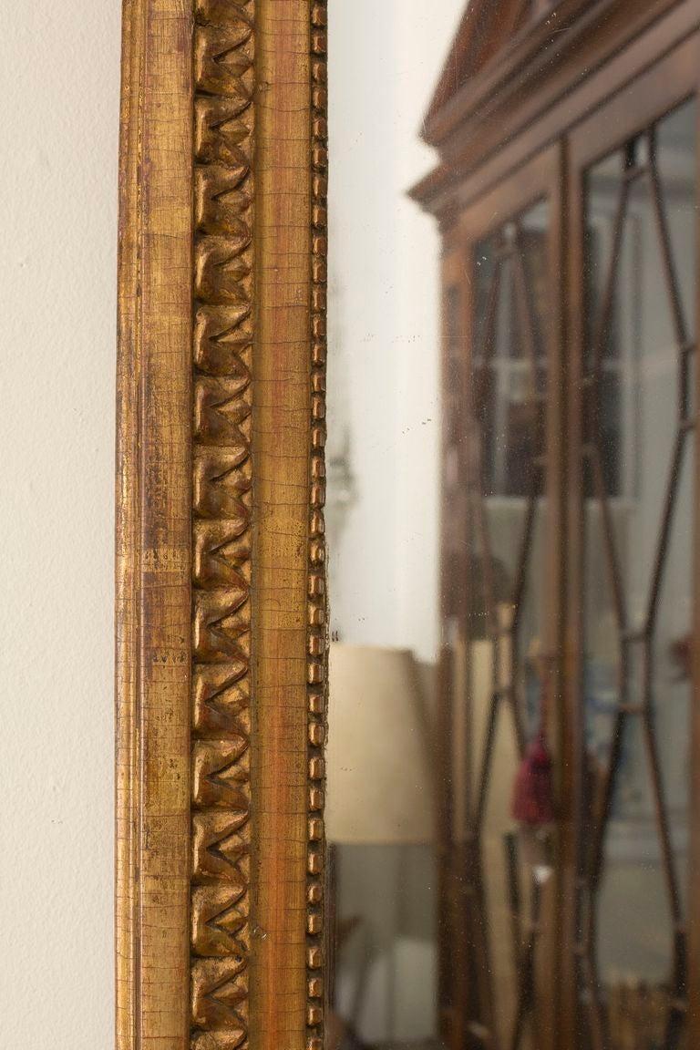 Neoclassical Louis XVI Giltwood Mirror