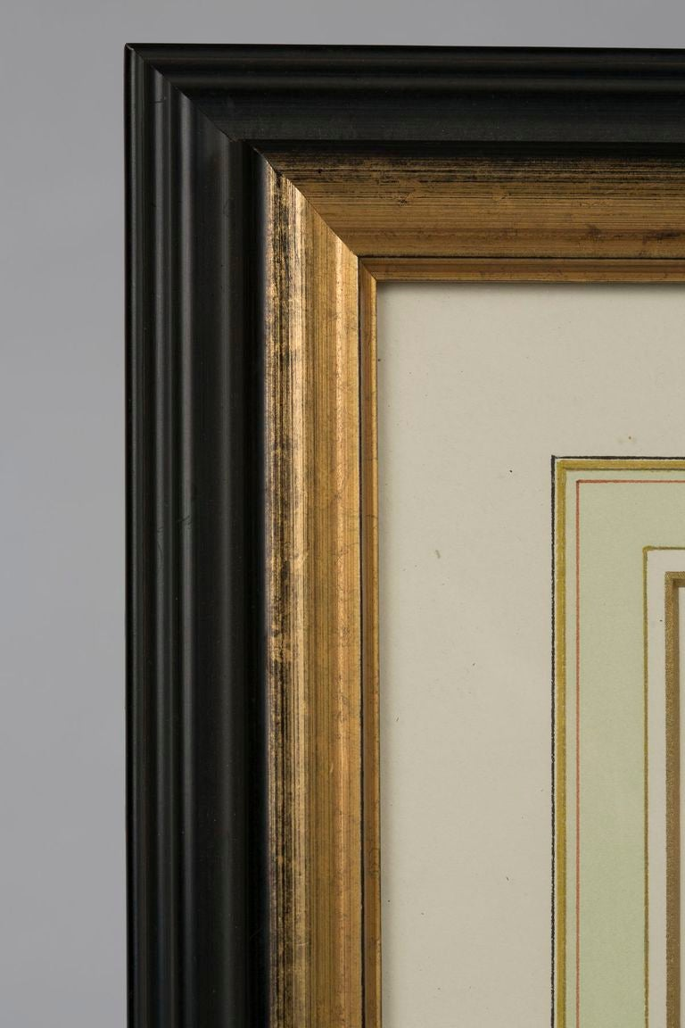 19th Century 19th c. Pair of Watercolors, American School  For Sale